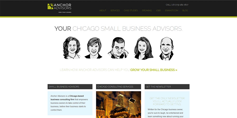 best small consultant websites