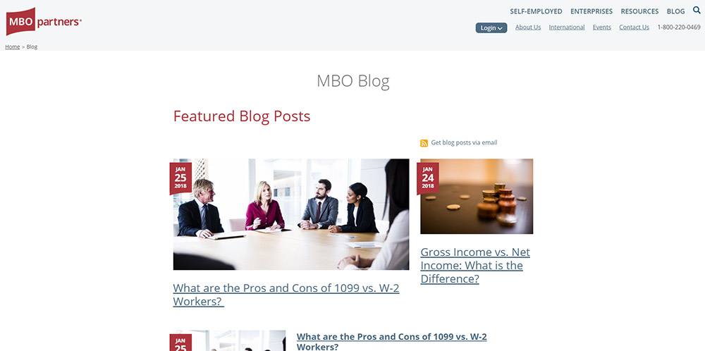 MBO Partners Consulting Blog