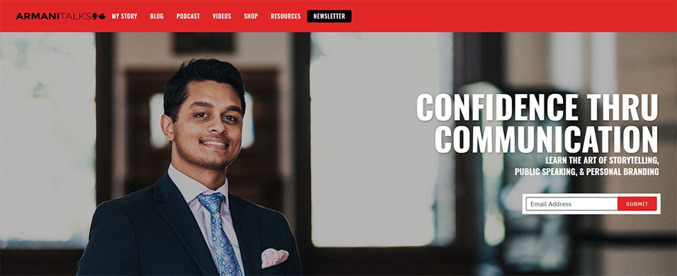 arman chowdhury's personal website