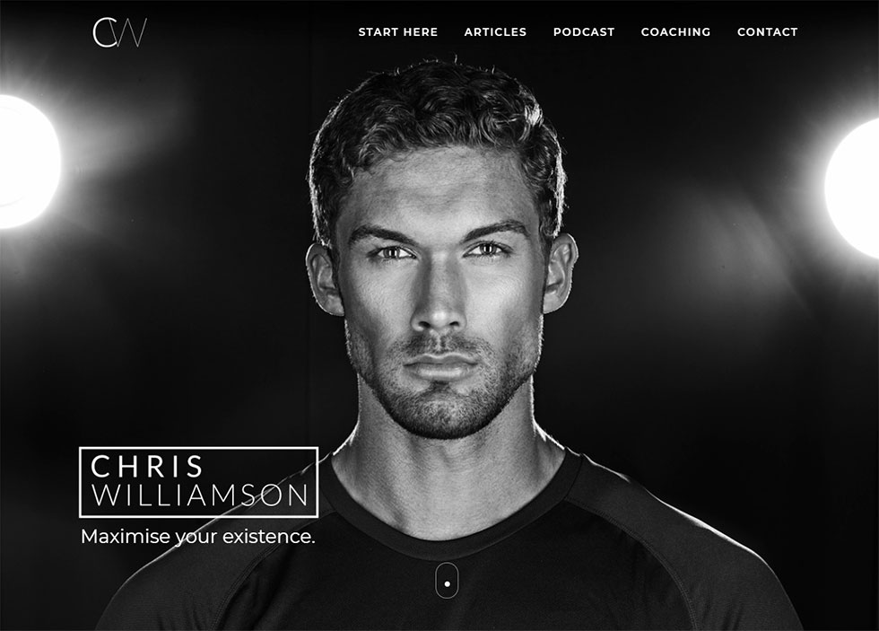 christopher williamson's personal website