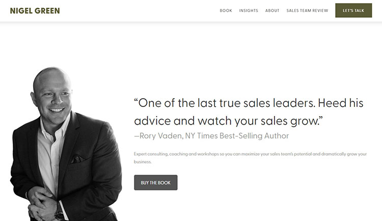 sales consultant website