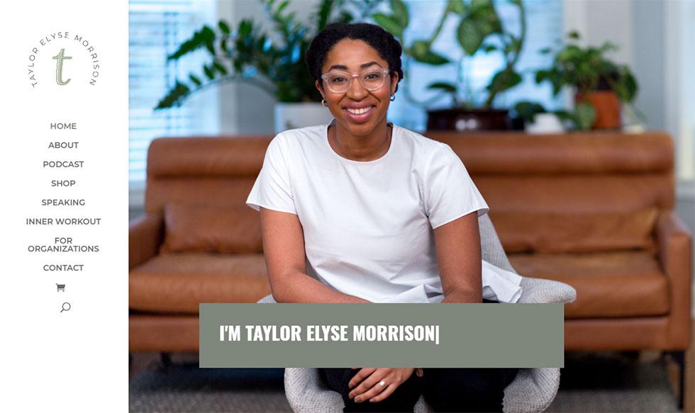 taylor morrison's personal website