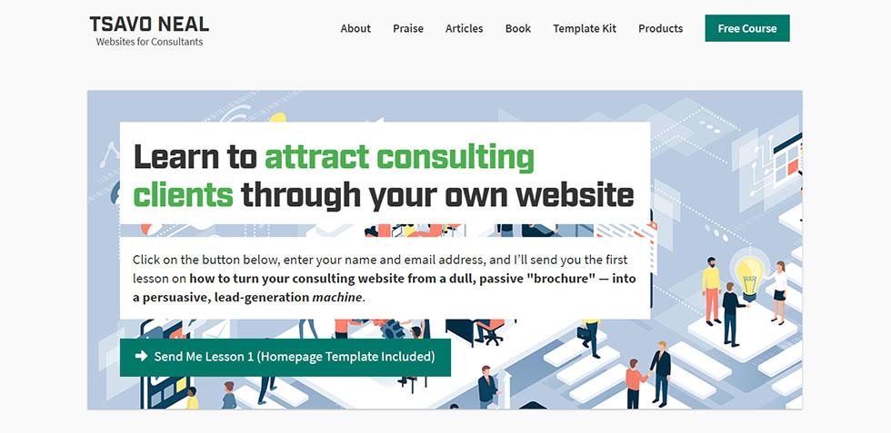 tsavo neal's personal website