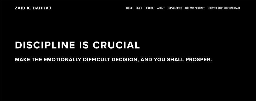 Zaid Dahhaj's personal website