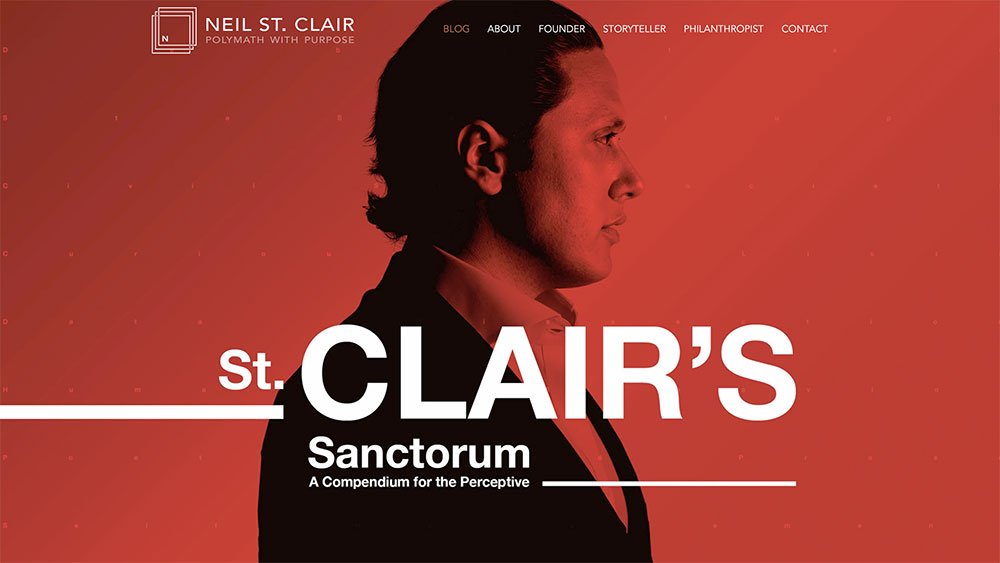 Neil St. Clair's personal website